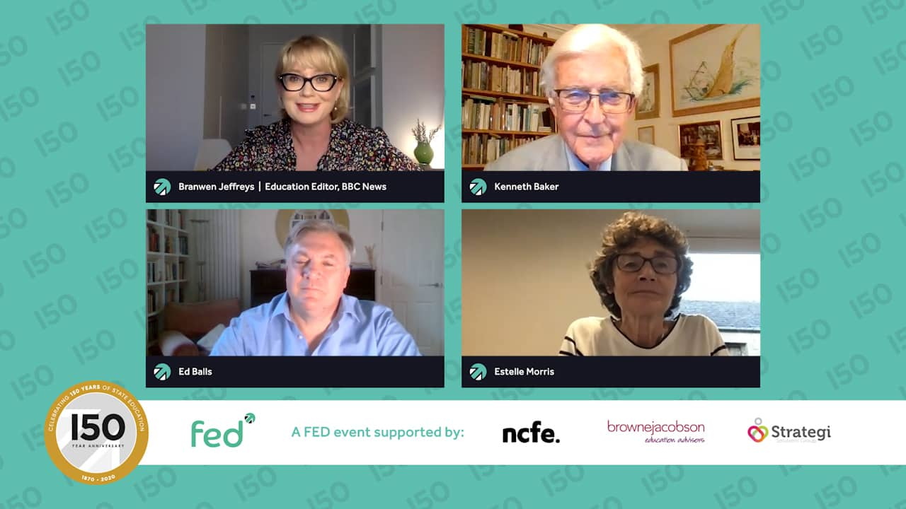 FED150 - 'What do you think have been the unintended consequences since the Education Reform Act?'