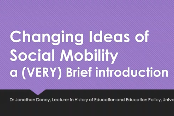 Looking Back Moving Forward A History Of Social Mobility