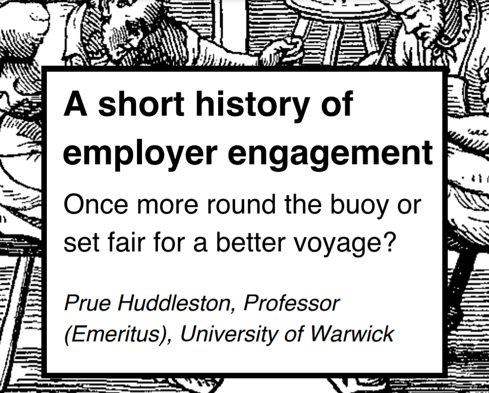 A short history of employer engagement: Once more round the buoy or set fair for a better voyage