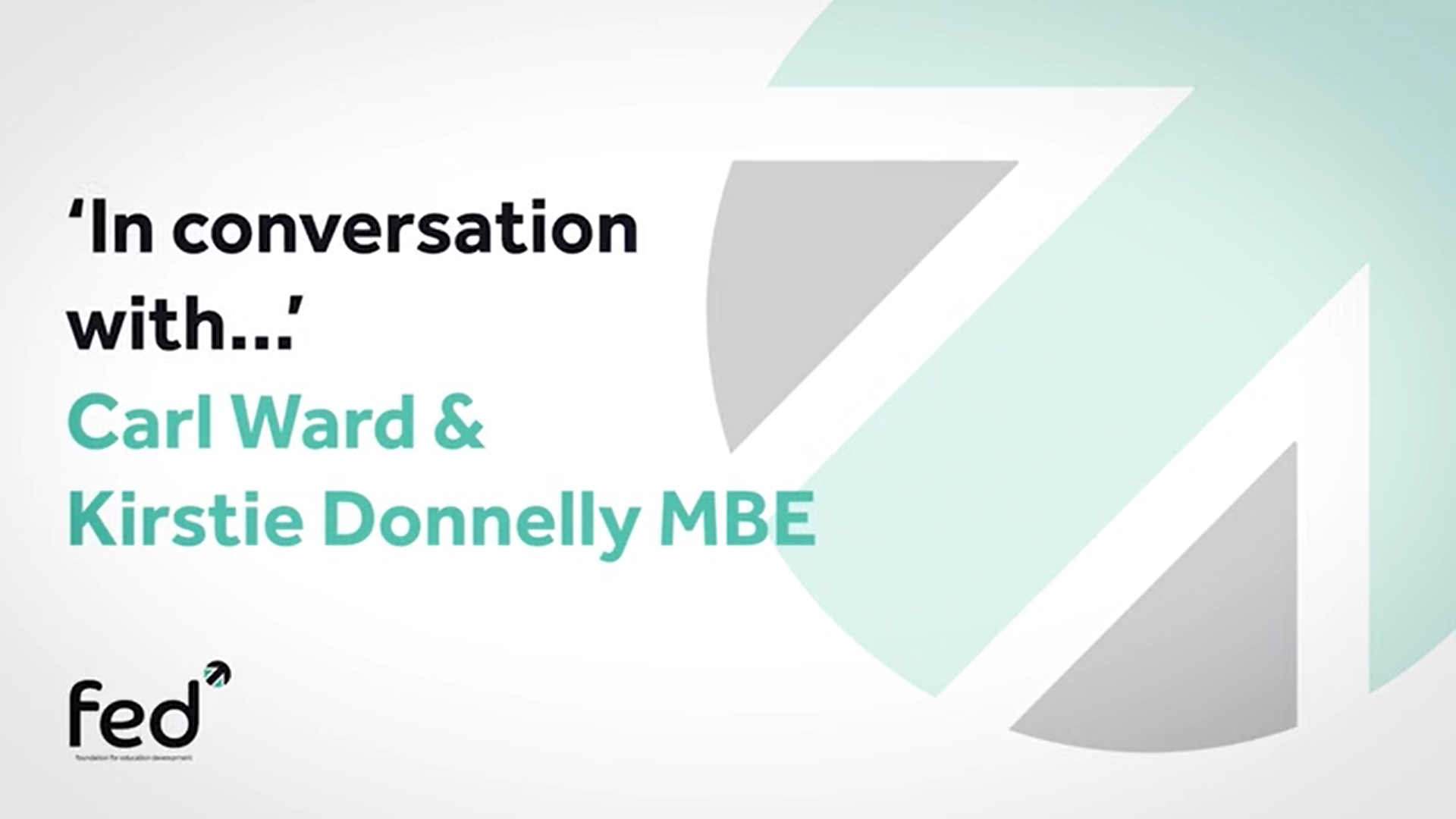 Kirsty Donnelly MBE 'In Conversation With' Carl Ward