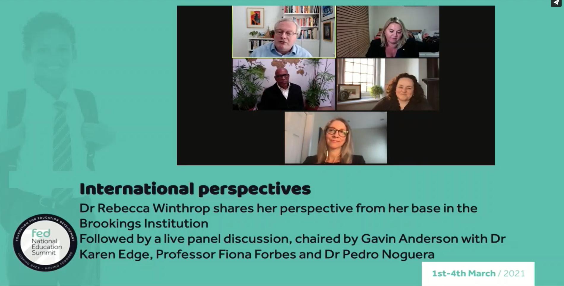 Fedenes Day 3 039 International Perspectives A Look Ahead To Global Education Leaders Partnership 2021 039
