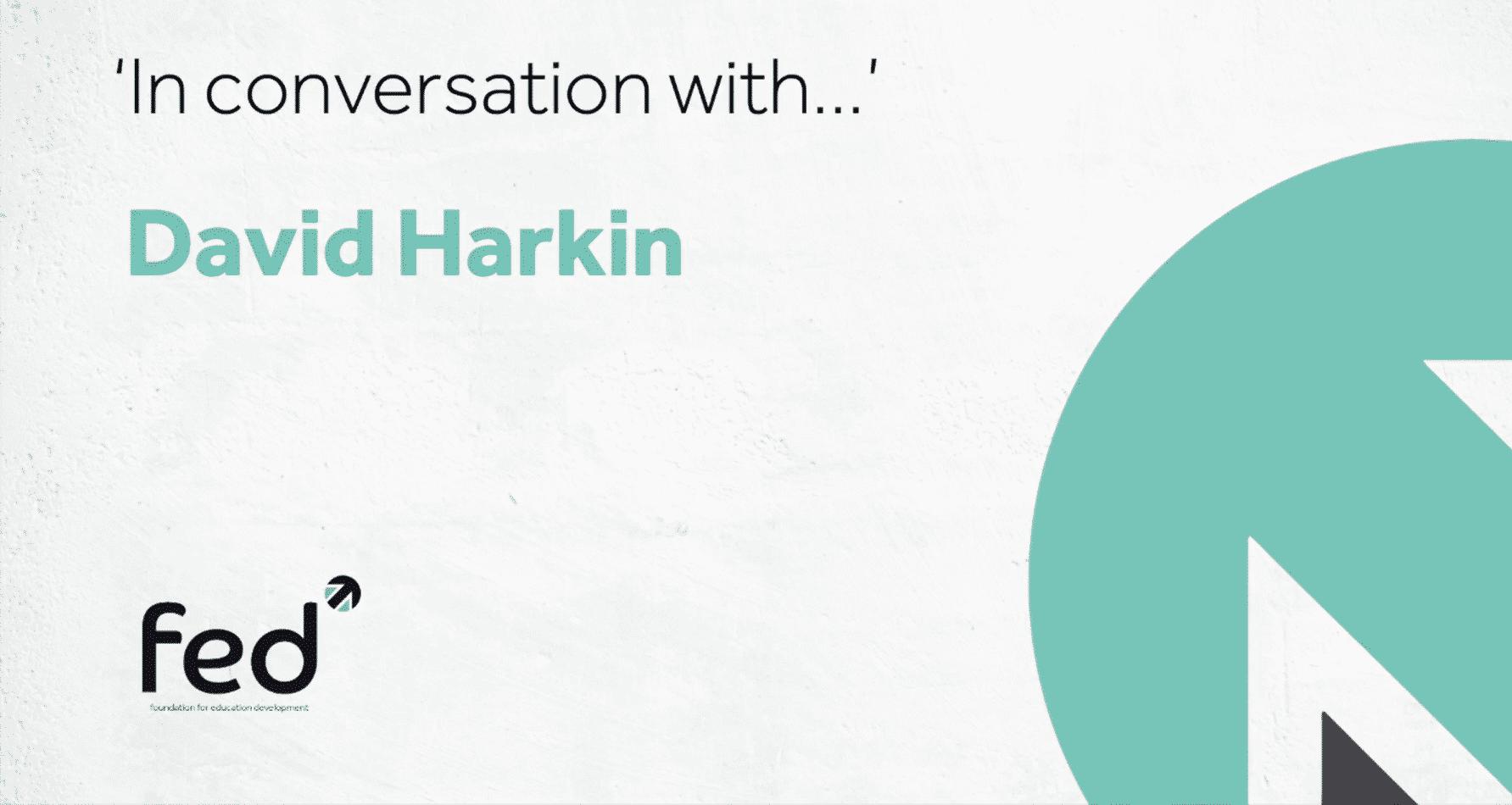David Harkin 'In Conversation with' Carl Ward